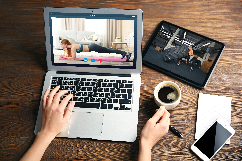 Remote coaching laptop ipad