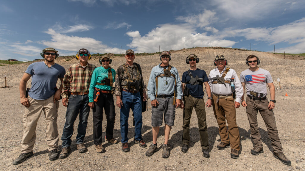 Group Photo from Survive the Griz class