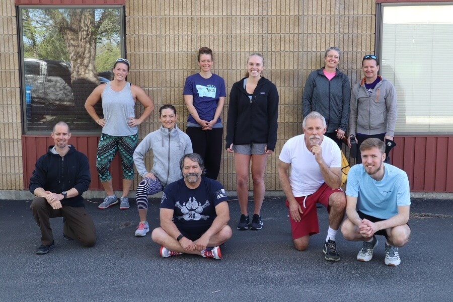 Abby Saturday group WOD send-off 900 tinypng