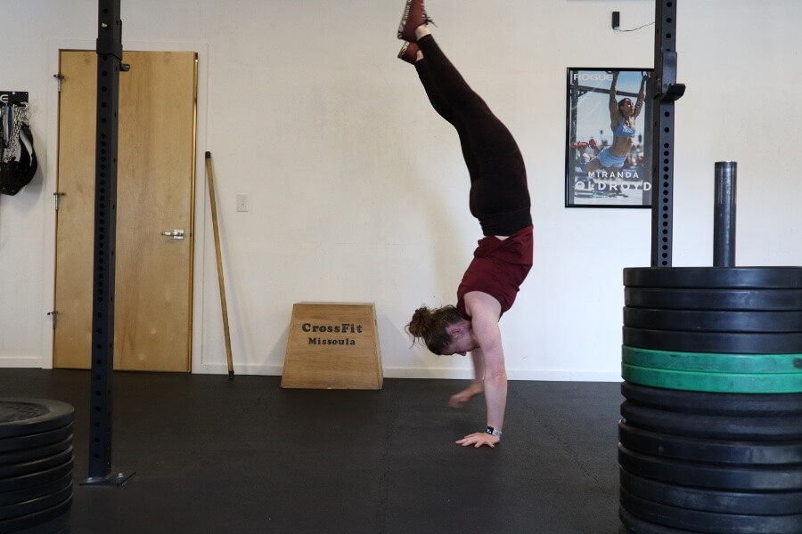Kate handstand walking 900