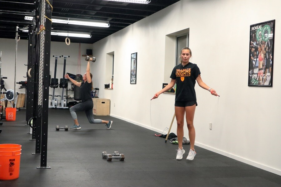 Lillie double unders
